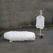 """Archiv  2004: Wilm Weppelmann """"Einführung - Ausstellung """"sterben kommt"""""""
